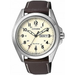 RELOJ CITIZEN HOMBRE URBAN ECO-DRIVE DOBLE CALENDARIO-AW0050-15A