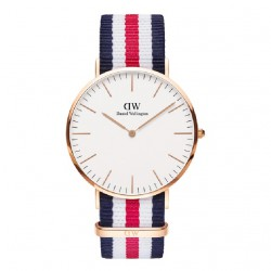 RELOJ DANIEL WELLINGTON CLASSIC CANTERBURY 40 ROSE GOLD