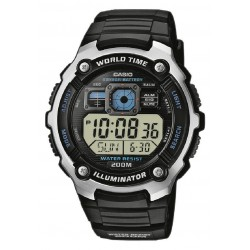 RELOJ CASIO DIGITAL HOMBRE WORLD TIME BUCEO