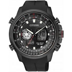 RELOJ CITIZEN HOMBRE PROMASTER SKY ACERO IP NEGRO ANALOGIC DIGITAL ECO-DRIVE-JZ1605-05E
