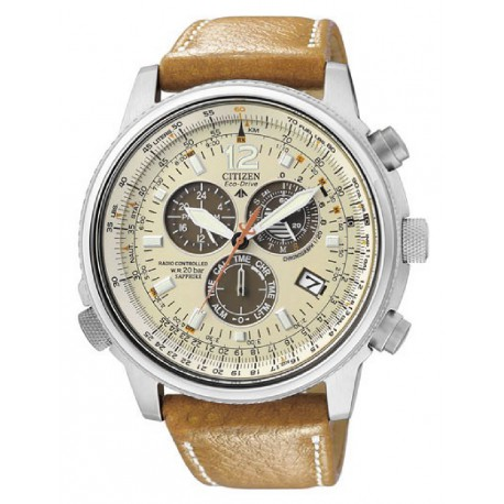 RELOJ CITIZEN PILOT CRONO ECODRIVE RADIOCONTROLADO-AS4020-44B