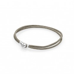 PULSERA PANDORA MOMENTS CORDON BEIGE
