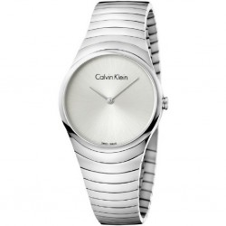 RELOJ CALVIN KLEIN WHIRL MUJER ACERO SWISS MADE-K8A23146