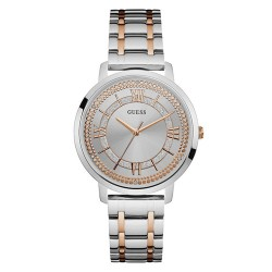 RELOJ GUESS LADIES DRESS ACERO BICOLOR IP ROSE-W0933L6