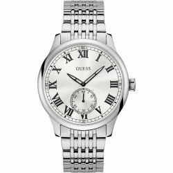 RELOJ W1078G1 GUESS CAMBRIDGE ACERO RETRO VINTAGE