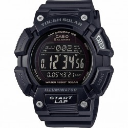 RELOJ CASIO DIGITAL SPORT TOUGH SOLAR RESINA NEGRO