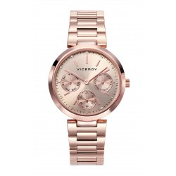 RELOJ VICEROY MUJER ACERO IP ROSE CALENDARIO MULTIFUNCION DAY/DATE