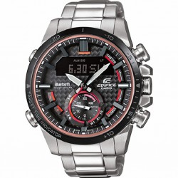 RELOJ ECB-800DB-1AEF CASIO EDIFICE ACERO TOUGH SOLAR BLUETOOTH