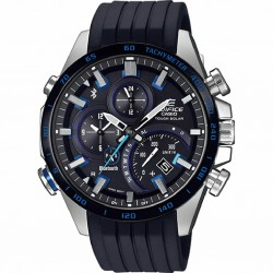 RELOJ EQB-501XBR-1AER CASIO EDIFICE TOUGH SOLAR BLUETOOTH ACERO CAUCHO NEGRO