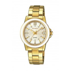 RELOJ SHE-4512G-7AUER CASIO SHEEN ACERO IP DORADO