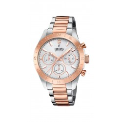 RELOJ FESTINA BOYFRIEND COLLECTION ACERO BICOLOR IP ROSE