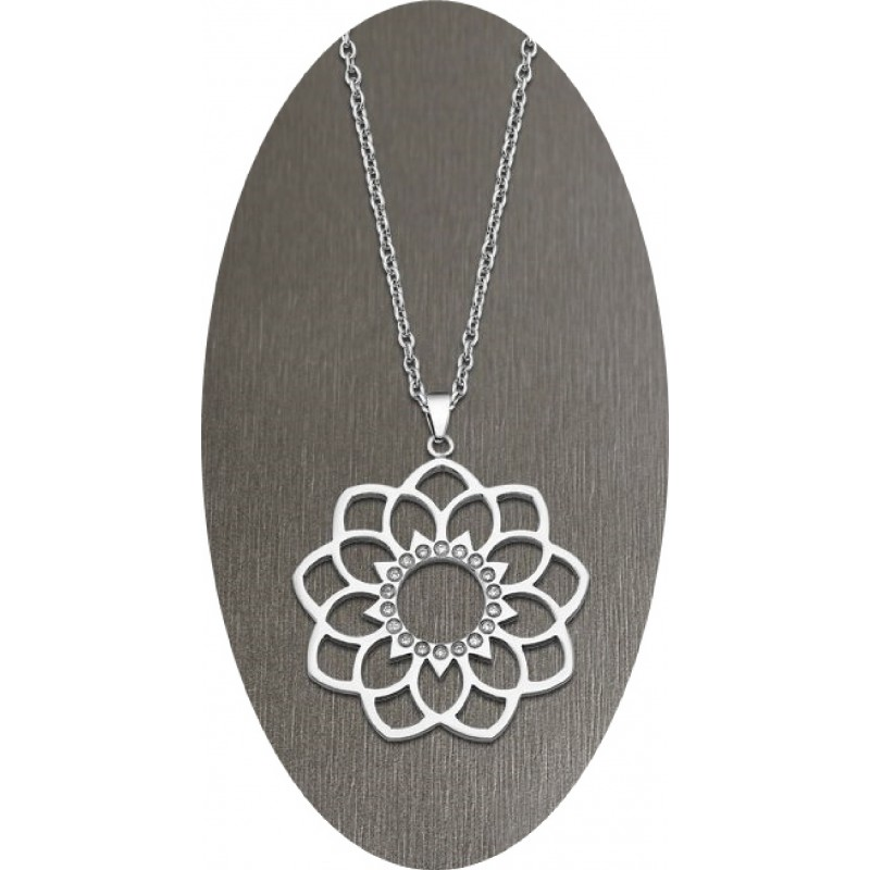 COLLAR LOTUS STYLE RAINBOW FLOR CON...