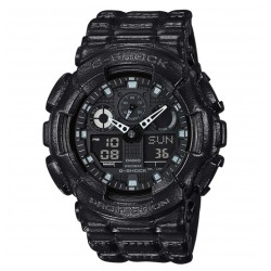 RELOJ GA-100BT-1AER CASIO G-SHOCK ANALOG  DIGITAL  RESINA NEGRA