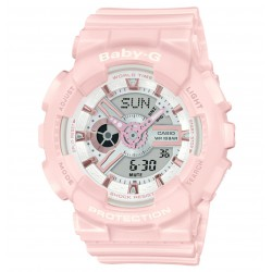 RELOJ BA-110RG-4AER CASIO BABY-G COLORFUL ESSENTIALS RESINA ROSA