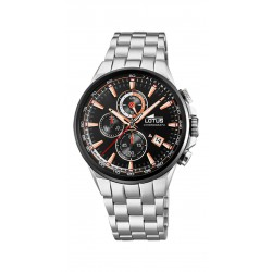 RELOJ LOTUS COLOR CRONO SPORT ACERO