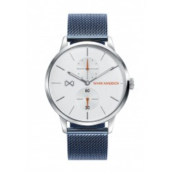 RELOJ MARK MADDOX NORTHERN ACERO MULTIFUNCION