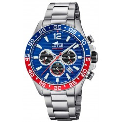 RELOJ LOTUS COLOR CHRONO ACERO