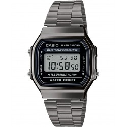 RELOJ A168WEGG-1AEF CASIO COLLECTION VINTAGE ICONIC IP NEGRO
