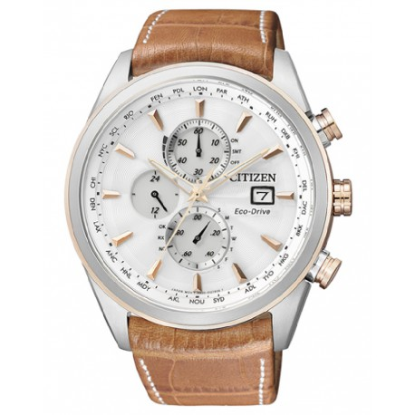 RELOJ CITIZEN HOMBRE RADIOCONTROLADO ECO DRIVE-AT8017-08A